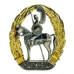 Hand made in Warsaw by our master engraver this is a miniature reproduction of a Polish Army insignia from the period of the 2nd Polish Republic from 1938 - 1944