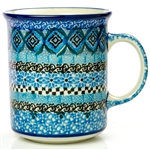 "Pattern Designed By Teresa Liana. The artist has been connected with the Artistic Handicraft Cooperative ""Artistic Ceramics and Pottery"" since 1983. Since 1992 she has been a pattern designer. Unikat pattern number U4603."