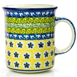 "Pattern designed and signed by Jolanta Okraska. The artist has been connected with the Artistic Handicraft Cooperative ""Artistic Ceramics and Pottery"" since 1983. Since 1985 she has been a pattern designer. Signature Series Pattern: U480."