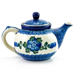 Beautiful teapot with a 10oz. capacity. Artist initialed.