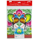 Nice souvenir and packaging from Poland. 100% cotton kitchen towel with a printed rooster floral design. After washing we noticed some print fading which is why these are on sale.   The towel size