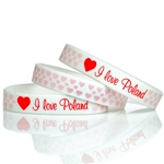 "Medium size (7.5"" - 19cm) wrist band with a little stretch. *WARNING: Choking Hazard--Small Parts Not for children under 3 yrs.
