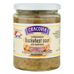 Ready to eat vegetarian soup from Poland.  Mix equal parts water and soup in a pan and bring to a boil. 