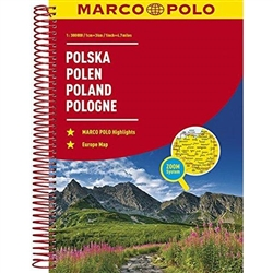 Fully updated for 2017... and now with ZOOM system for even better orientation! Unique spiral binding with wrap-around spine. High quality cartography with distance indicators and scale converters to aid route planning. Comprehensive index and inset