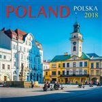 This beautiful 16 month calendar features 13 city and country scenes in full color, suitable for framing. In Polish and English language and EU weekly format (Monday is the first day of the week). Polish holidays and names days are listed and there is roo