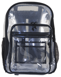29002 AMARO CLEAR SEE-THRU BACKPACK