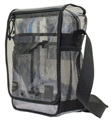 AMARO CLEAR MESSENGER BAG