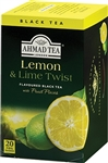 Ahmad Lemon and Lime Twist Black Tea 20 tea bags
