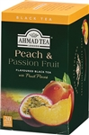 Ahmad Peach and Passion Fruit Black Tea 20 foil tea bags