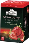 Ahmad Strawberry Black Tea 20 foil tea bags