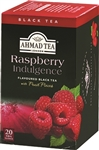 Ahmad Raspberry Black Tea 20 foil tea bags