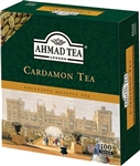 Ahmad Cardamon Tea 100 Tagged Teabags