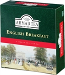 Ahmad English Breakfast - 100 tagged tea bags