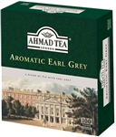 Ahmad Aromatic Earl Grey Tea 100 Tagged Tea Bags (1005)