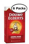 6 Packs Douwe Egberts  Aroma Rood Ground Coffee 17.6oz/500g Each