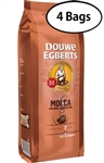 4 Packs Douwe Egberts  Mocca Aroma Whole Bean Coffee 17.6oz/500g Each