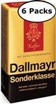 6 Pack Dallmayr Sonderklasse Ground Coffee 8.8oz/250g Each