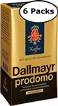 6 Packs Dallmayr Prodomo Ground Coffee 8.8oz/250g Each