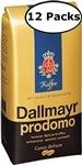 12 Packs Dallmayr Prodomo Whole Beans Coffee 17.6oz/500g Each