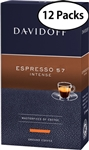 12 Packs Davidoff Cafe Espresso 57 Ground Coffee 8.8oz/250g Each