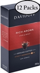 12 Packs Davidoff Cafe Rich Aroma Ground Coffee 8.8oz/250g Each