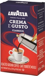 Lavazza Crema E Gusto Ground Coffee in Pack 8.8oz/250g