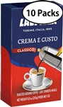 10 Packs Lavazza Crema E Gusto Ground Coffee 8.8oz/250g Each