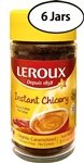 6 Jars Leroux Regular Instant Chicory 3.5oz/100g Each