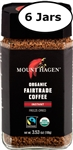 6 Jars Mount Hagen Organic Instant Coffee  3.5oz/100g Each