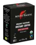 Mount Hagen Organic Instant Coffee Single Serve 25 Sticks