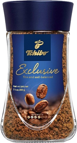 tchibo exclusive instant coffee 7oz 200g. Black Bedroom Furniture Sets. Home Design Ideas