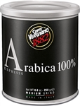 Caffe Vergnano 100% Arabica Espresso Medium Grind in Can 8.8oz/250g