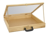 Mobile Wood Briefcase/Showcase