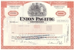 Union Pacific Stock Certificate