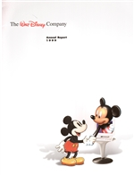1999 Walt Disney Company Annual Report – Mickey Mouse Cover