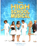 2007 Walt Disney Company Annual Report – High School Musical Cover