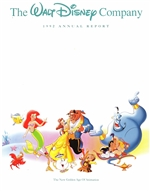 1992 Walt Disney Company Annual Report - Little Mermaid and Friends Cover
