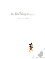 1995 Walt Disney Company Annual Report - Mickey Mouse Cover