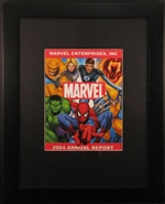 Framed 2004 Marvel Entertainment, Inc. Annual Report