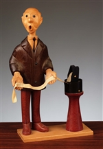 Stockbroker Figurine by Romer of Italy