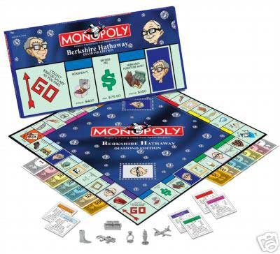 Berkshire Hathaway Monopoly Diamond Edition Board Game