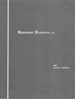 2009 Berkshire Hathaway Annual Report