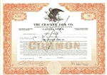 The Cracker Jack Co. Stock Certificate