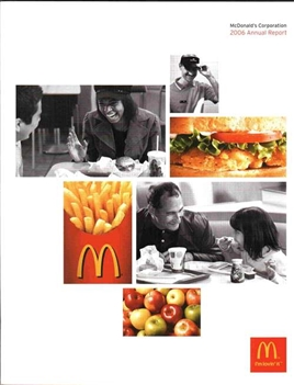 2006 McDonald's Annual Report