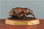 Duality (2008) by Chris Navarro, Bronze Bull and Bear Sculpture
