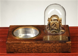 Vintage Edison Ticker Tape Machine Ash Tray