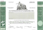 Dr Pepper / Seven-Up Companies, Inc. Specimen Stock Certificate