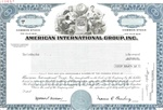 AIG American International Group, Inc. Specimen Stock Certificate