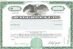 Walgreen Co Specimen Stock Certificate