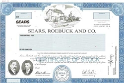 Sears, Roebuck and Co. Specimen Stock Certificate